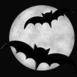 bat under the moon