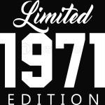 1971 Limited Edition Birthday