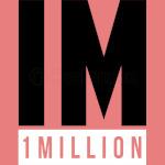 1 MILLION Dance Studio Logo