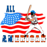All American BaseBall player