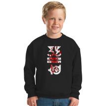 4bf8c9efee3 Kevin Durant Human Blood Logo Kids Sweatshirt