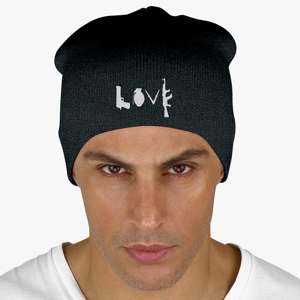 Buy Love Guns Knit Beanie, 16782