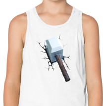 52994849c77cd1 Thor Hammer Kids Tank Top