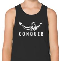 faf9d76e2ed402 Arnold Schwarzenegger - Conquer Kids Tank Top