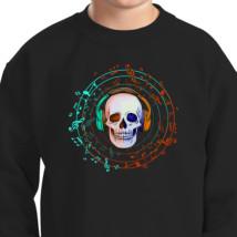 headphone Kids Sweatshirt | Kidozi com