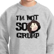 724108cefef5 Game Grumps - I m Not So Grump Kids Sweatshirt