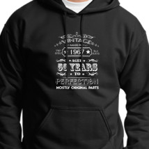 07f9c4cd 1986 Birthday Gift - Vintage Aged to Perfection Unisex Hoodie ...