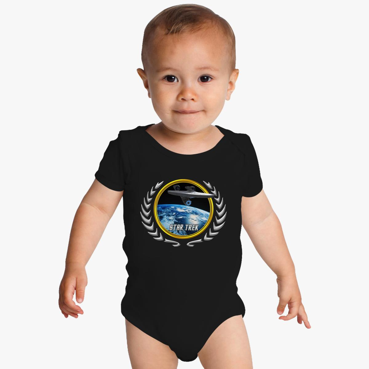 Buy Star trek Federation Planets Enterprise 2009 Baby Onesies, 526487