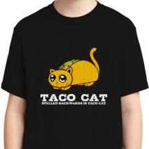 2e653f7c5 Funny Taco Cat Cinco De Mayo Mexican Food Humorous Youth T-shirt ...