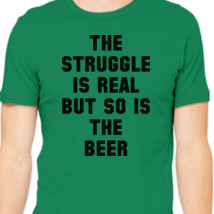 2c68473c6 Struggle is real but so is the Vodka Men's T-shirt | Kidozi.com
